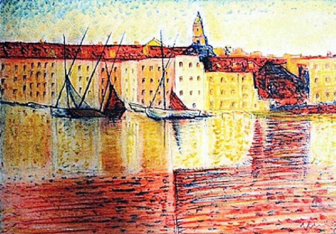Maurice De Vlaminck - The River