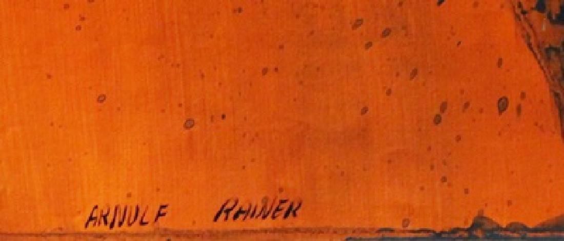 Bomb - Arnulf Rainer - Oil On Paper - 2