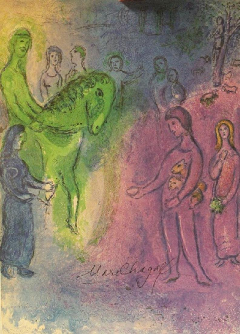 Marc Chagall - Signed Lithograph 63