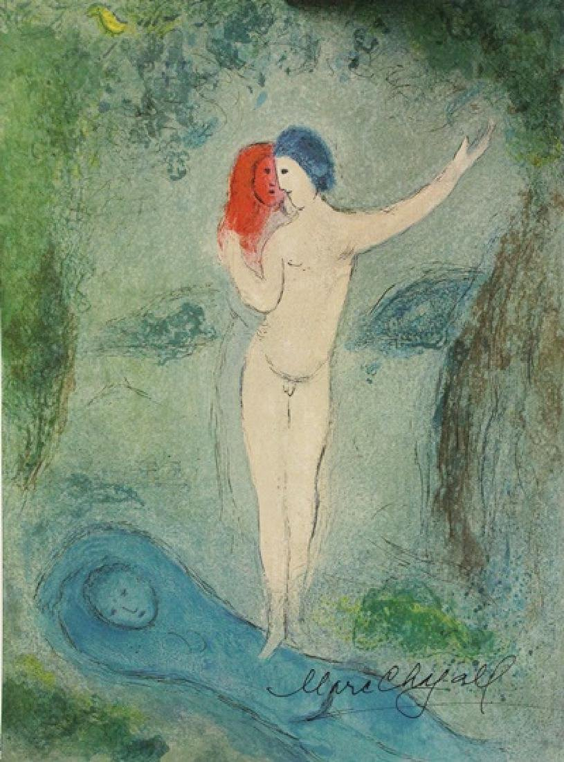 Marc Chagall - Signed Lithograph 46