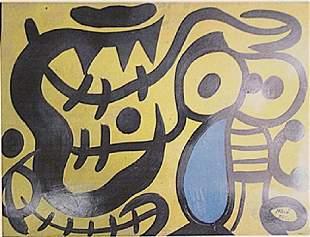 Joan Miro El Nio Y El Tigre