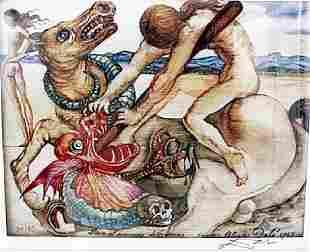 Saint George and the Dragon Salvador Dali
