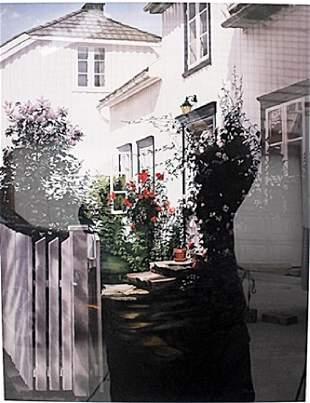 Garden Gate Barbara Buer Lithograph