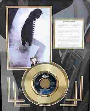 Michael Jackson Memorabilia 498U