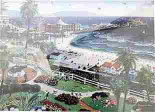 Santa Monica Alexander Chen Lithograph 557U