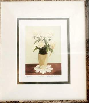 Peonies Gerald Lubeck Lithograph