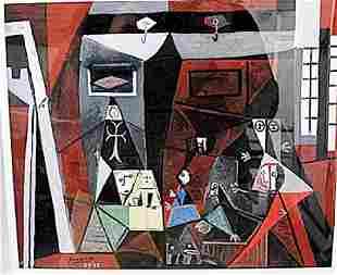 After Velazquez Pablo Picasso Lithograph