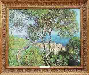 BORDIGHERA 1884 Claude Monet Giclee