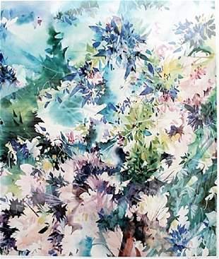 Blue Lagoon Zoe Mac Lithograph