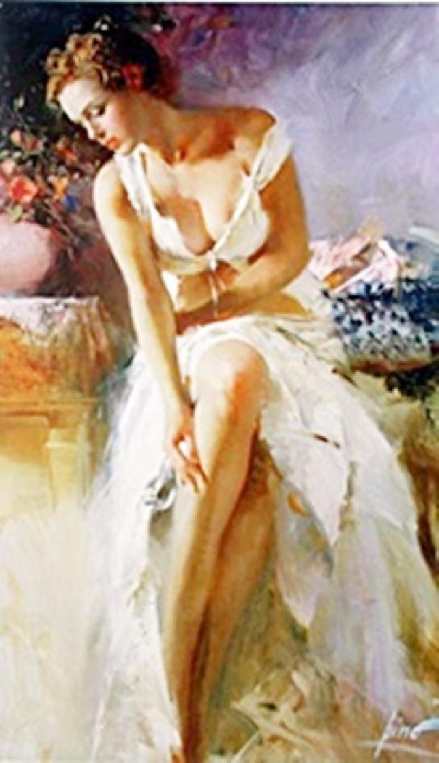"""Authentic Giclee on Paper """"Angelica""""  Pino"""
