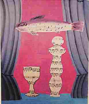 Rene Magritte The Fish