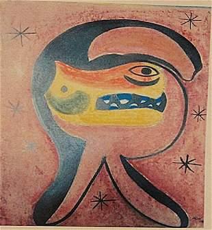 Joan Miro The Animal