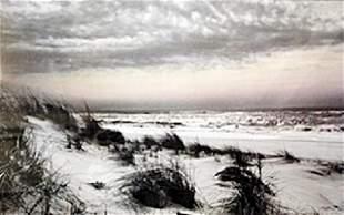Offset Lithograph Warm Skies Harold Silverman