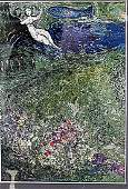 Le Verger, from Daphnis et Chloé - Marc Chagall -