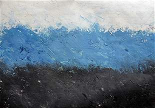 The Sea Theodoros Stamos Oil On Paper