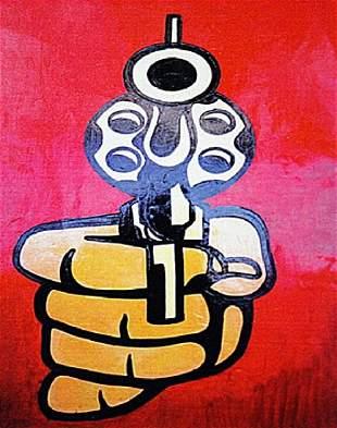 Roy Lichtenstein The Gun
