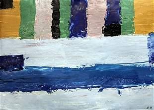 My Wall Nicolas De Stael Oil On Paper