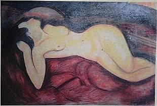 Amedeo Modigliani Reclining Nude
