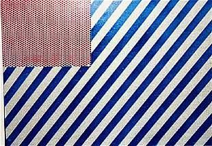 Roy Lichtenstein The Flag