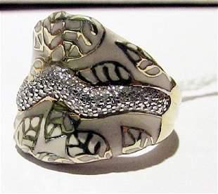 Silver Diamond Rings