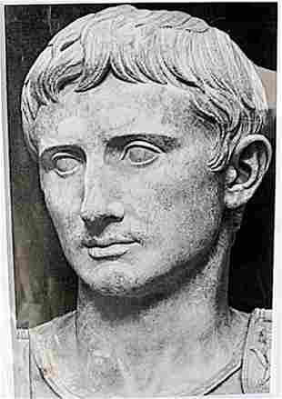 Octavian Caesar Lithograph