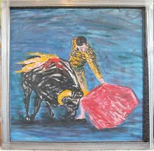 Oil Painting in Canvas Ignacio Racerra