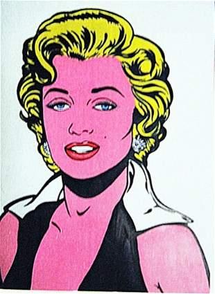 Roy Lichtenstein Marilyn Monroe