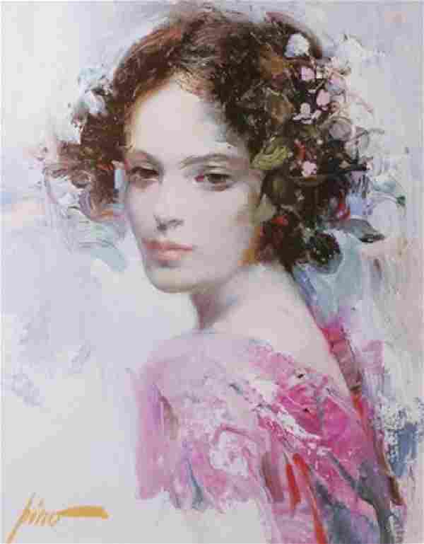 """Giclee on Paper """"Lily"""" Pino (11ZI)"""