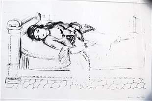 Henri Matisse - Lithograph