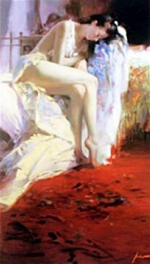 """Authentic Giclee on Paper """"Fanciful Dream"""" Pino"""