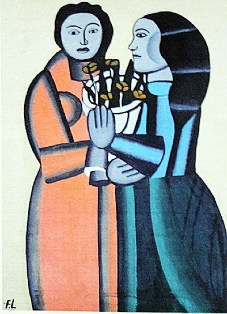 Fernand Leger Two Womans