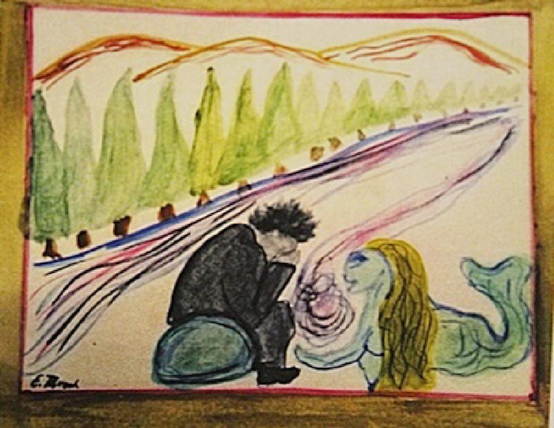 Edvard Munch Melancholy