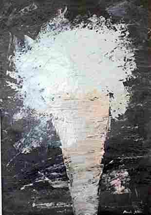 Ice Cream Manolo Valdes Blasco Oil On Paper