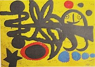 Joan Miro The Boy