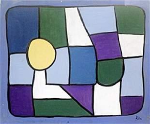 Oil on Paper Paul Klee