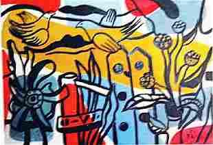 Fernand Leger The Garden
