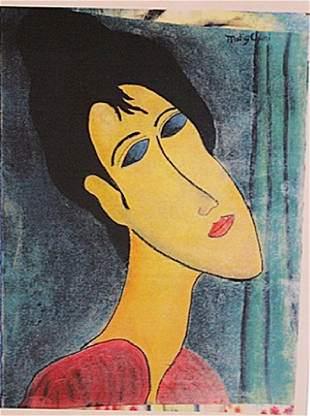 Amedeo Modigliani Andrea Mora