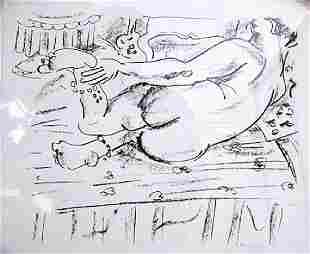 Henri Matisse Lithograph 11U