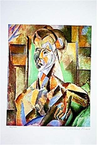 Picasso Limited Edition Seated Woman from