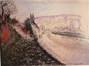 Claude Monet Vetheuil
