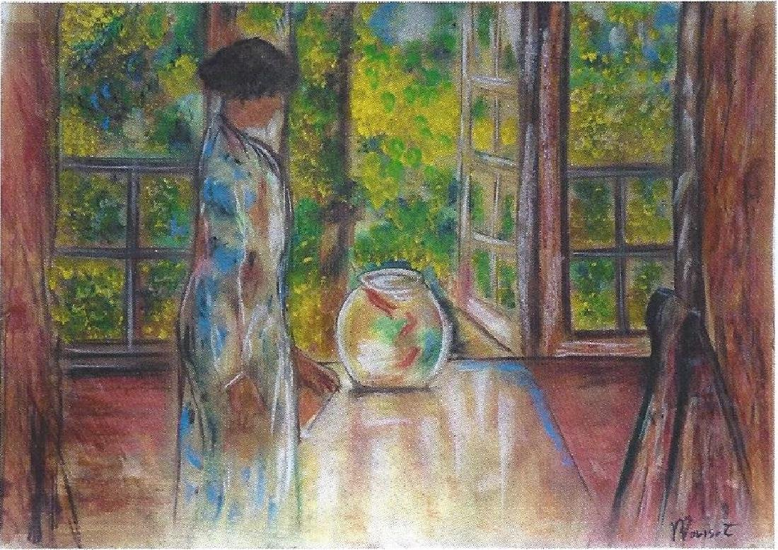 Ms. Joana - Berthe Morisot - Pastel On Paper