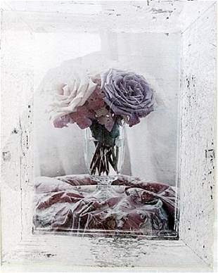 Flower Vase Lithograph