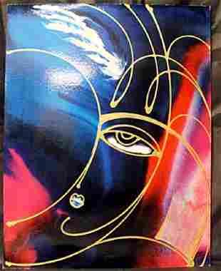 Beautiful Prints Rage Of Love By Martiros Manoukian