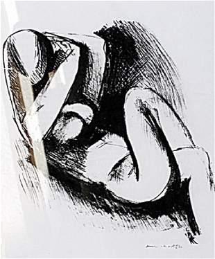 Nu Henri Matisse Lithograph