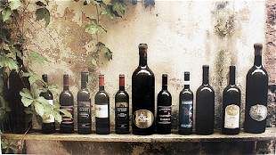 Wine Collection Lithograph
