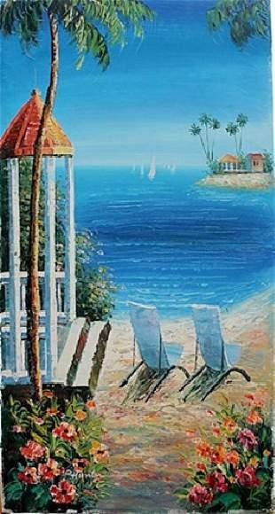 Beach Relaxation P Hunter Canvas
