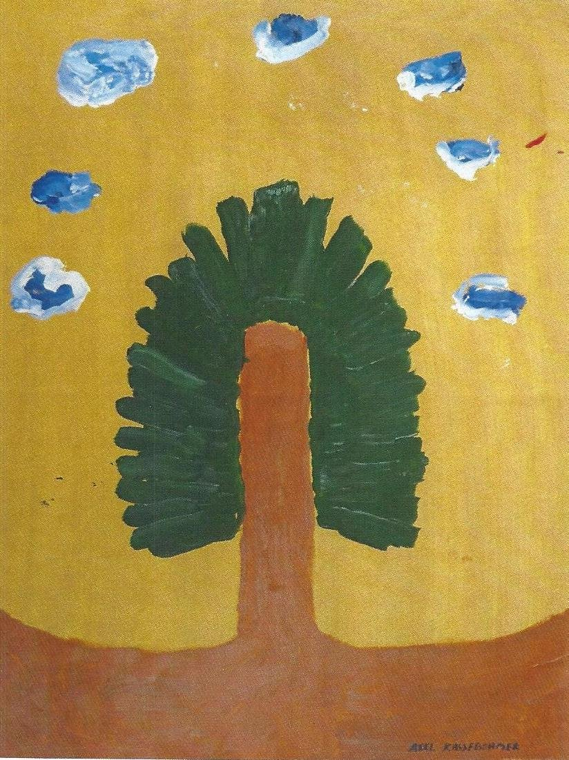 The Tree - Axel Kassebohmer - Oil On Paper