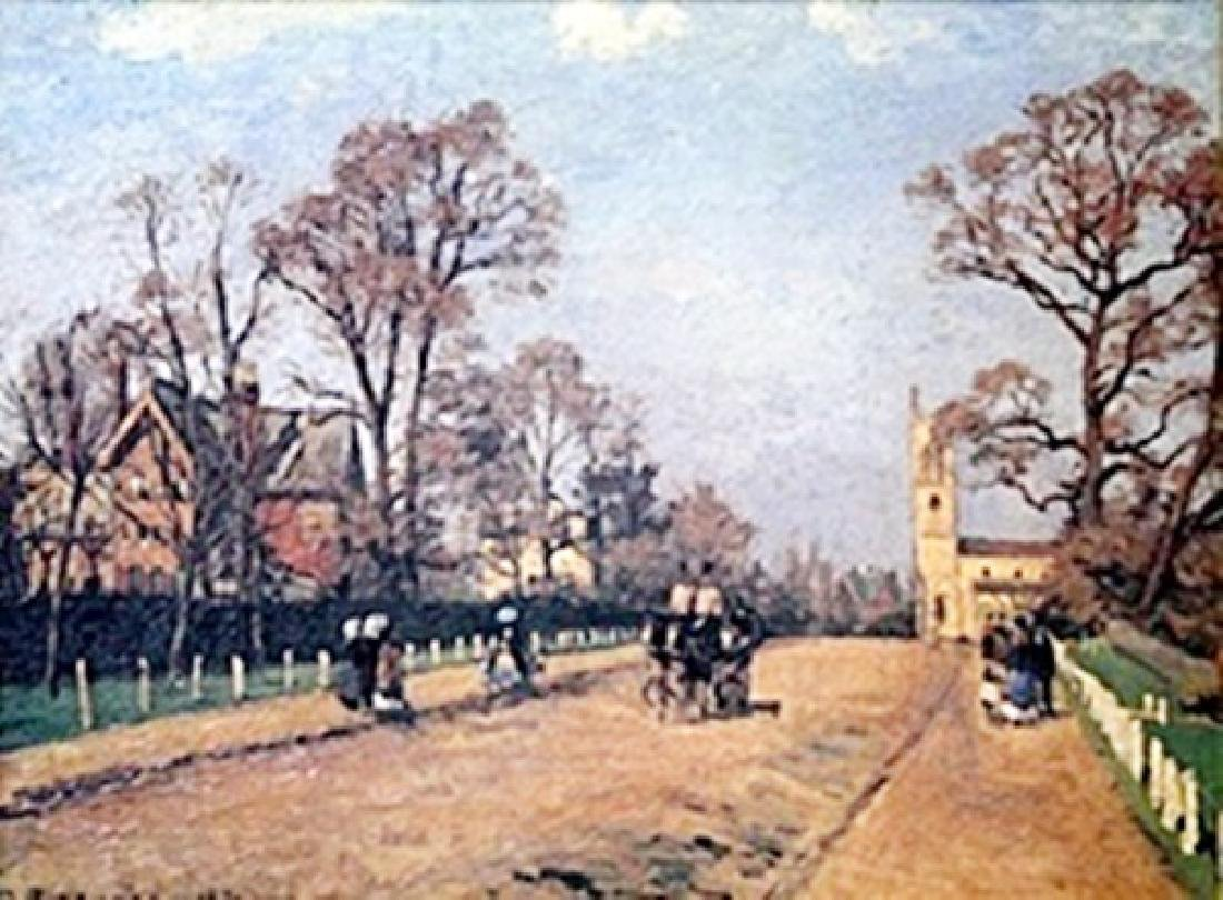 Giclee on Board  Camille Pissaro