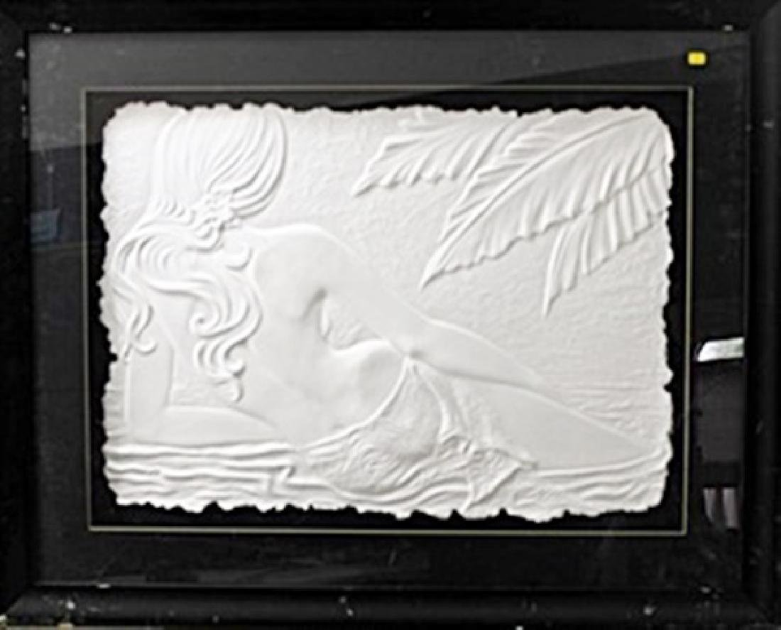 Relief Sculpture by Roberta Peck