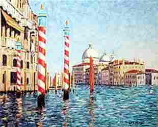 authentic giclee on Canvas after Diane Monet